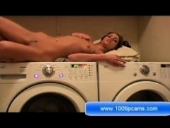 Sex Show on Washing Machine