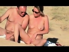 Couple hidden cam beach. Mature